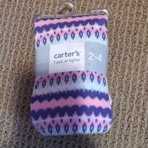 NWT carters 2-4 tights